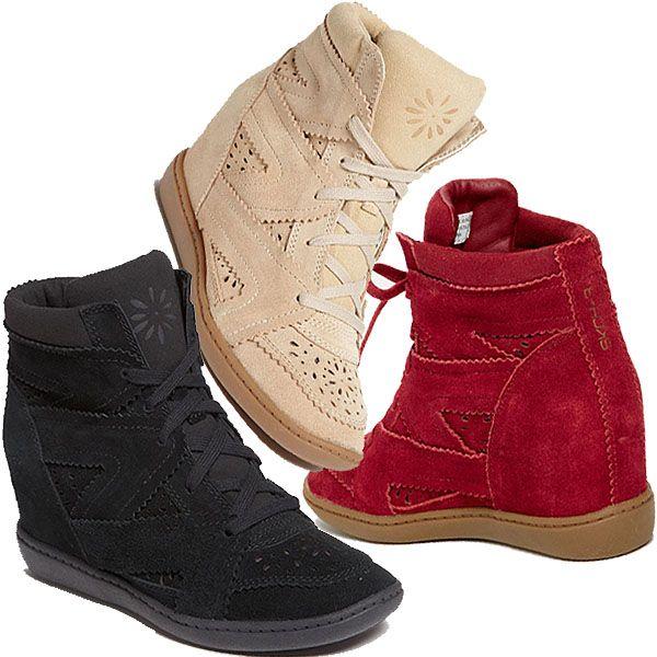 """Skechers Plus 3 """"Higher Love"""" Wedge Sneakers"""