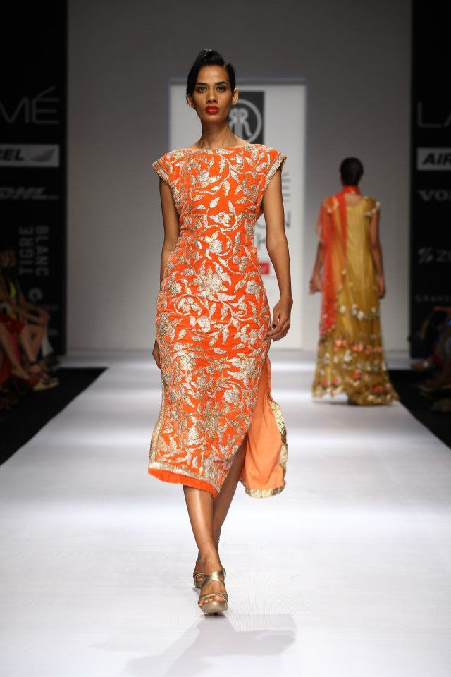 1000 images about indian fashion gota patti on Contemporary fashion designers