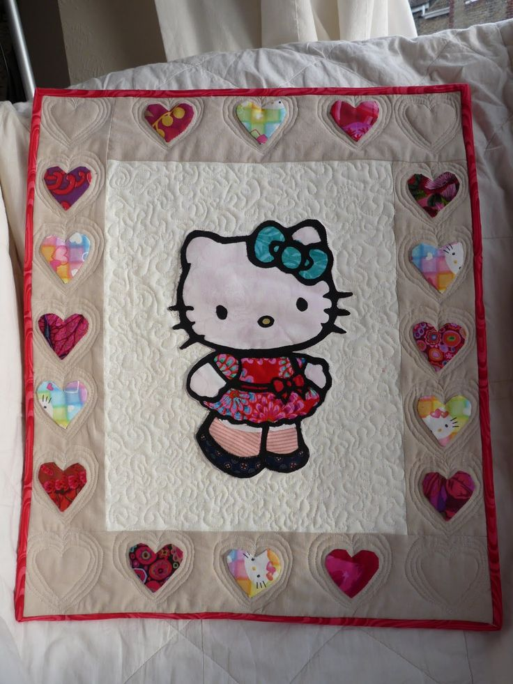 Hello Kitty Quilt Quilts I Must Make Pinterest