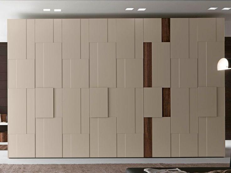 Sectional lacquered wardrobe STEP Tecnopolis Collection by Presotto Industrie Mobili | design Pierangelo Sciuto