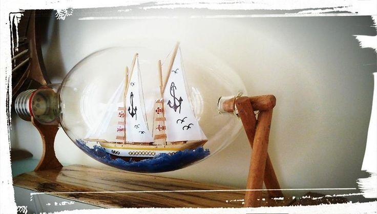 Clipper, Ship in Bulb