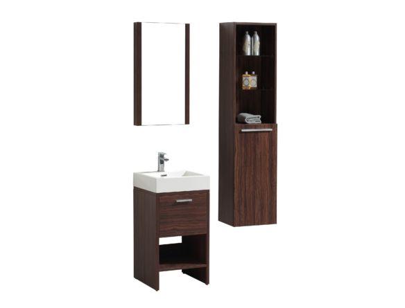 Meuble-lavabo 18 x 18 pouces - Vanité 24 pouces et moins - Mobiliers de salle de bain - Salles de bain - Produits - Bain Dépôt