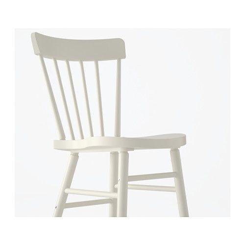 NORRARYD Chair  - IKEA w/ pine top table/white legs (Lerhamn)