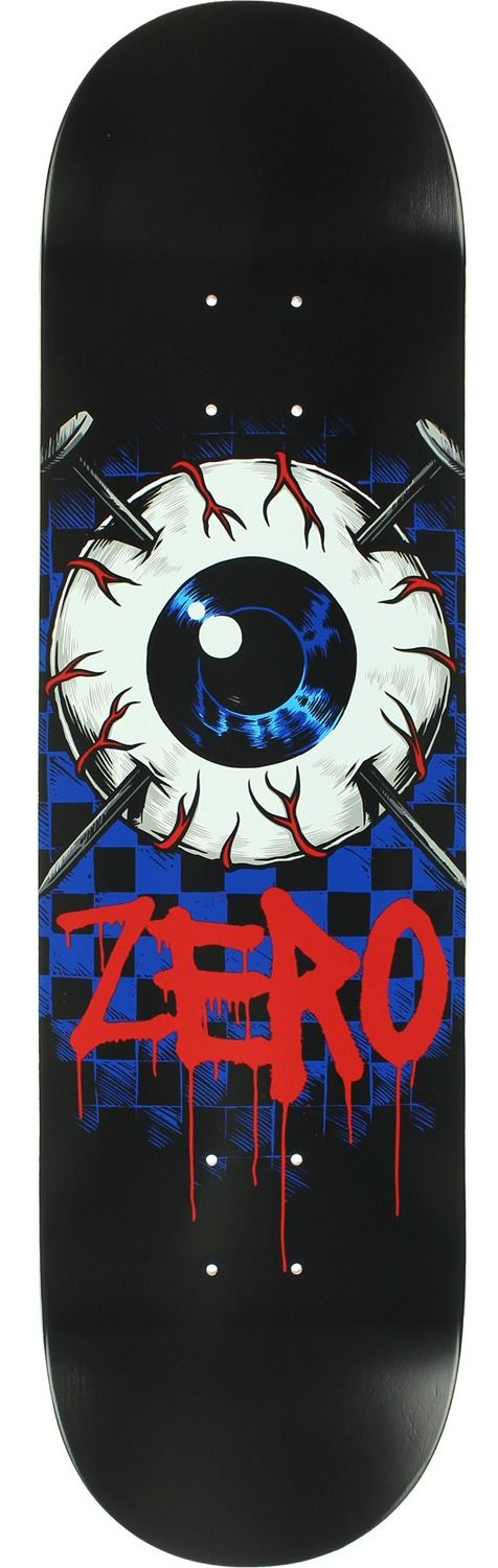 Zero Skateboards Eyeball Skateboard Deck