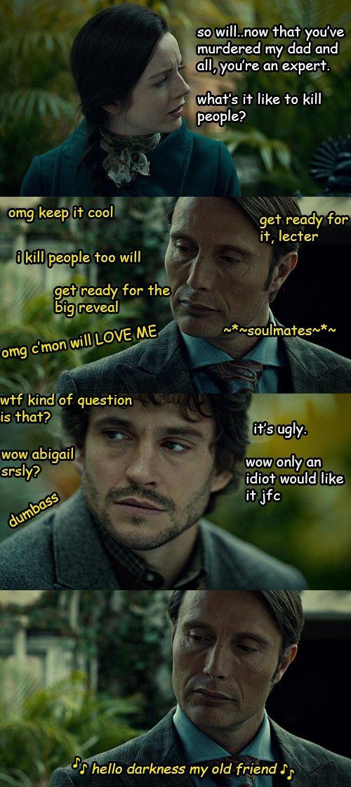 Hannibal has a broken heart