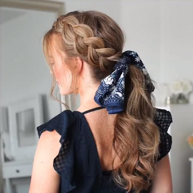hair tutorial video, braided hairstyle #braidstyles #hairtutorial #hairvideos #braidedhair #dutchbraids #frenchbraid #videotutorial #longhairstyles
