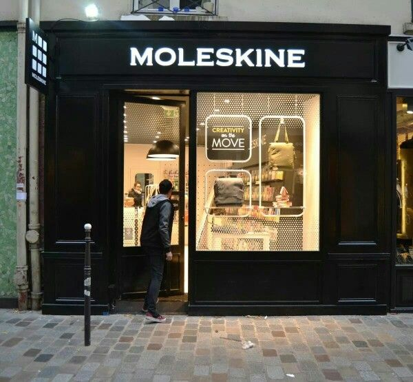 New Moleskine store in Paris!