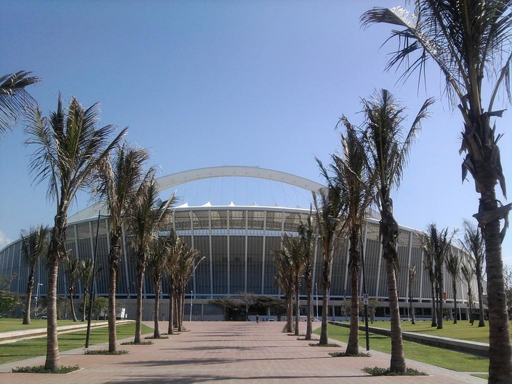 Walkway from Durban Beachfront to Moses Mabhida Stadium