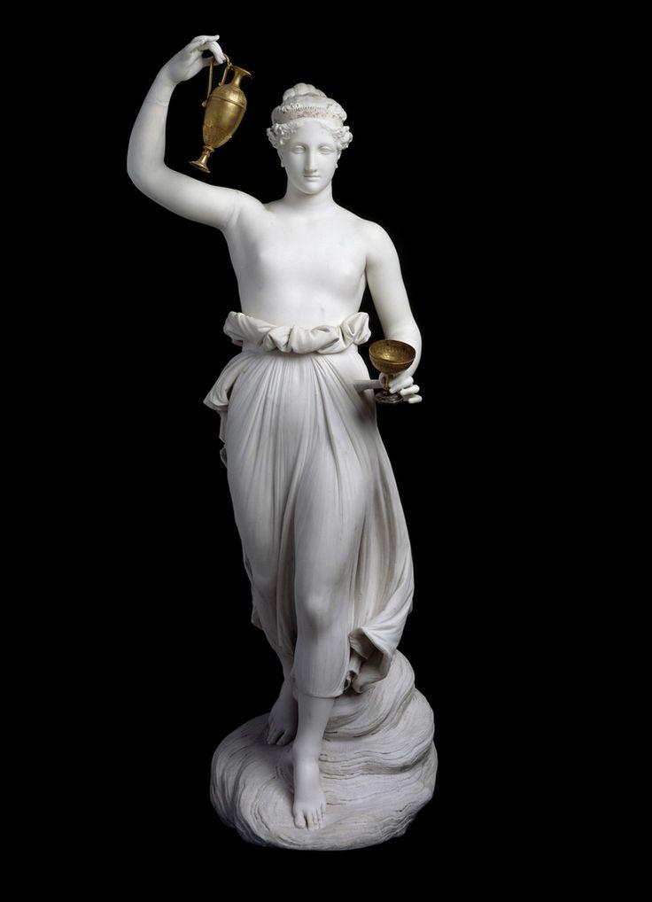 Ebe, Canova, 1816, marmo, Museo di San Domenico, Forlì