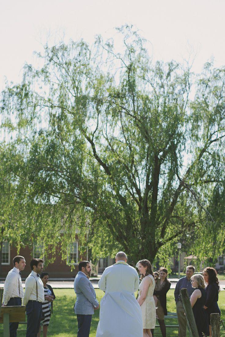 Romantic Amp Intimate Outdoor Wedding