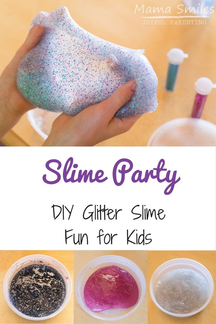 Simple but fun ideas for a mermaid birthday party for a five-year-old. Easy activities (including glitter slime making!) and fun cupcakes! Also a great cake idea!