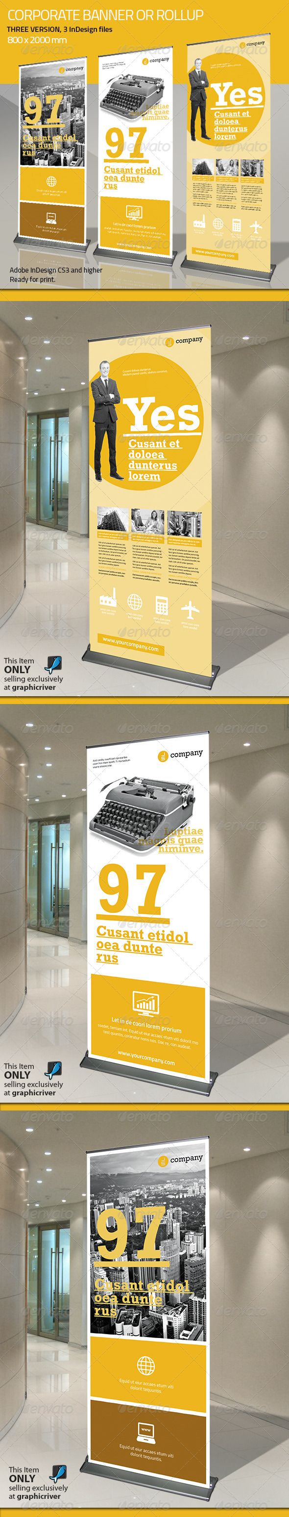 Corporate Banner or Rollup Vol 5
