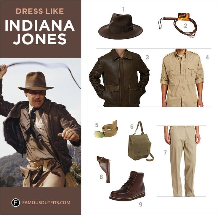 Dress like Indiana Jones from the popular movie. Get the Indiana Jones costume by following this guide.