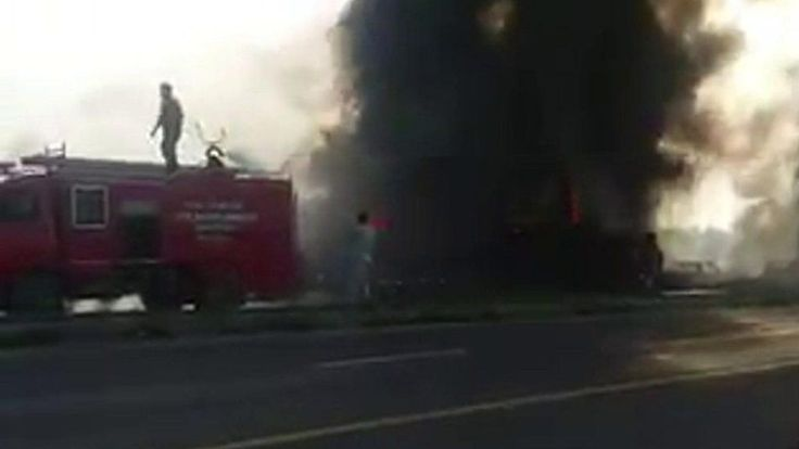 More than 120 people were killed when a lorry transporting oil burst into flames in Pakistan.  Source link... - #Blaze, #Dead, #Leaves, #Oil, #Pakistan, #People, #Tanker, #World_News
