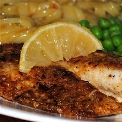 """Broiled Parmesan-Lemon Tilapia 