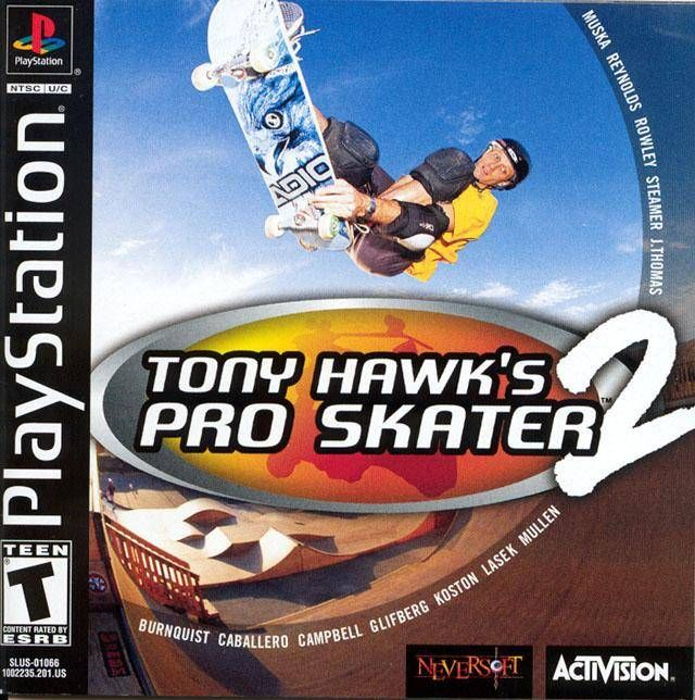 Tony Hawk's Pro Skater 2. Remember when Tony Hawk games were still amazing with awesome soundtracks? I do.