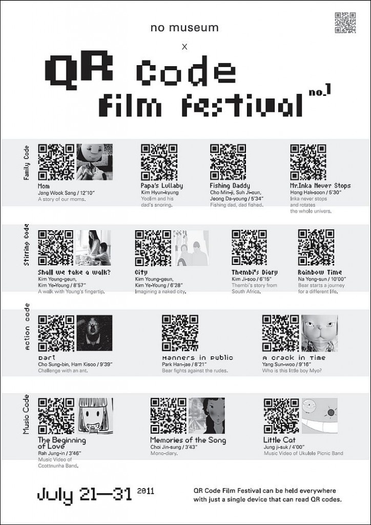 75 best qr codes images on pinterest qr codes mobile phones and shops creative use of qr codes qr film festival fandeluxe Gallery