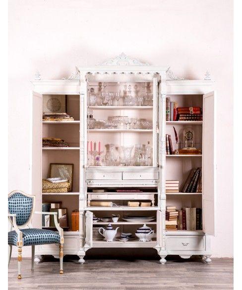 Mueble Antiguo De Sacristía Restaurado Medericke #libreria #aparador ...