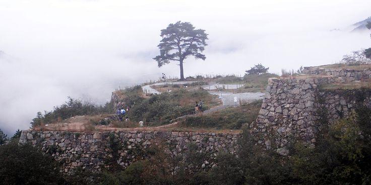 竹田城跡。雲海を見たい。