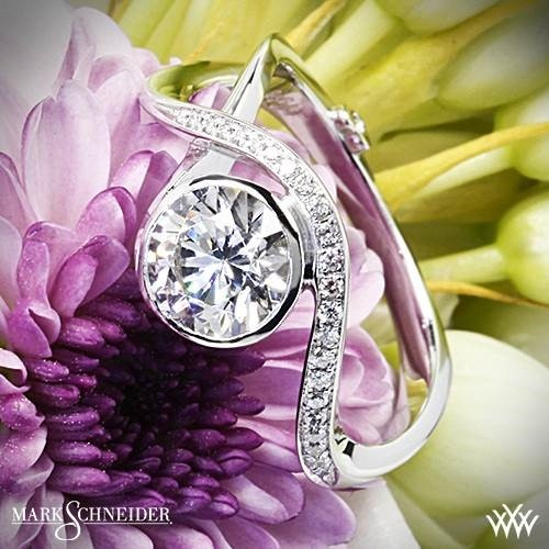 Mark Schneider Aurora Diamond Engagement Ring #Whiteflash Pin it to Win it