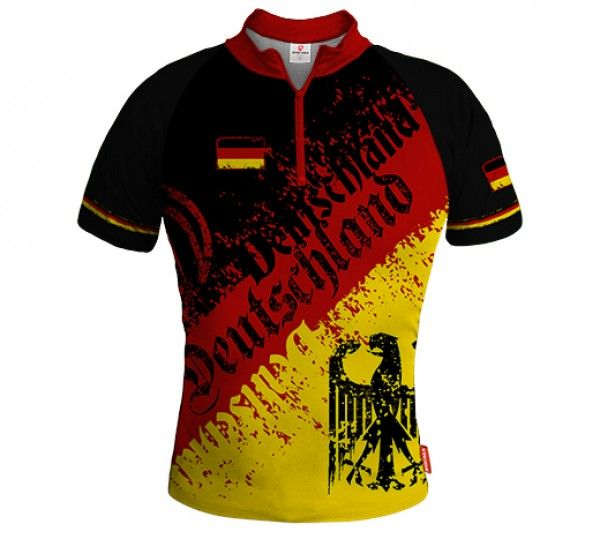 Germany STREET Biking Jersey EAGLE