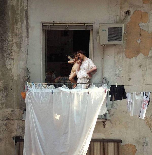 Prachtige renaissanceportretten in de straten van Napels – Ciao tutti – ontdekkingsblog door Italië
