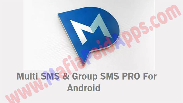 Multi SMS & Group SMS PRO v1.6.1 Apk for Android   Multi Short Message Service is an automatic group sms application which enables you to send multi sms to large amount of recipients. MSMS sending panel allows tracking sent or not sent group sms Moreover in case where the sms was not sent to some of the recipients application will ask whether you want to try sending the sms again. The group of recipients may be created from phone contacts / groups or textcsv file.  Features :   Create…