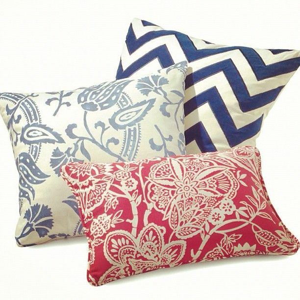 Decorative pillows are a must! These feel chic but also homey...a fabulous combination! #decor # ...
