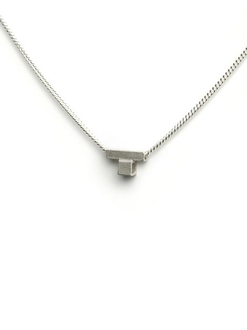 TURINA PIX1.1S necklace with pendant from casted silver (925). 65 EUR via www.turinajewellery.com
