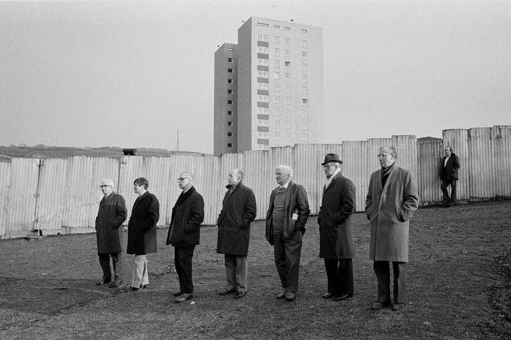 © Martin Parr/Magnum Photos GB. England. West Yorkshire. Halifax Town football ground. 1977.