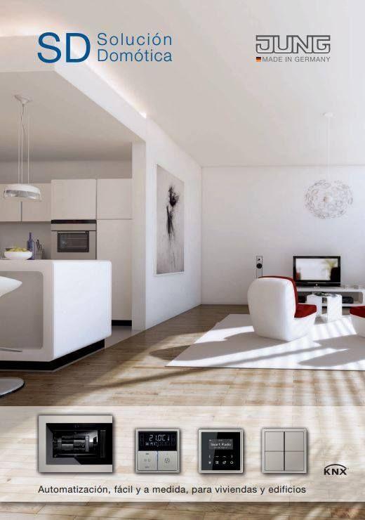 Solución domótica JUNG. La automatización fácil y a medida para viviendas y edificios: la domótica más avanzada, con un sencillo sistema 'plug&play' listo para instalar y funcionar.