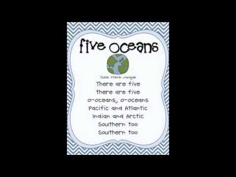 Five Oceans Song - YouTube