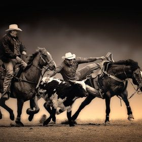 Being at a rodeo in person is unlike nay other sporting event, truly