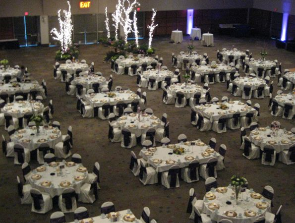Round And Rectangle Tables Wide View