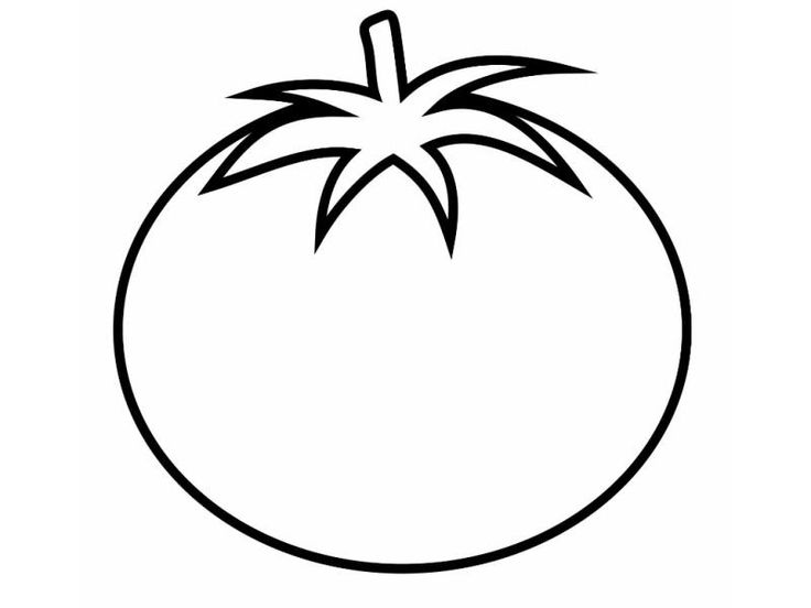 Tomato Clipart Coloring Page 13 800 X 600 Coloring Pages For Kids Fruit Coloring Pages Vegetable Coloring Pages