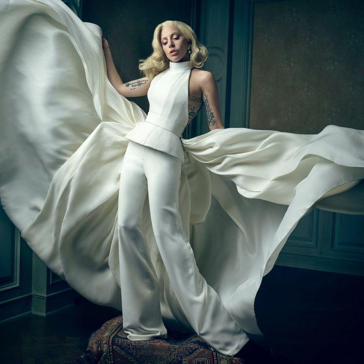 Lady Gaga | Mark Seliger's Vanity Fair Oscar Party Portrait Studio
