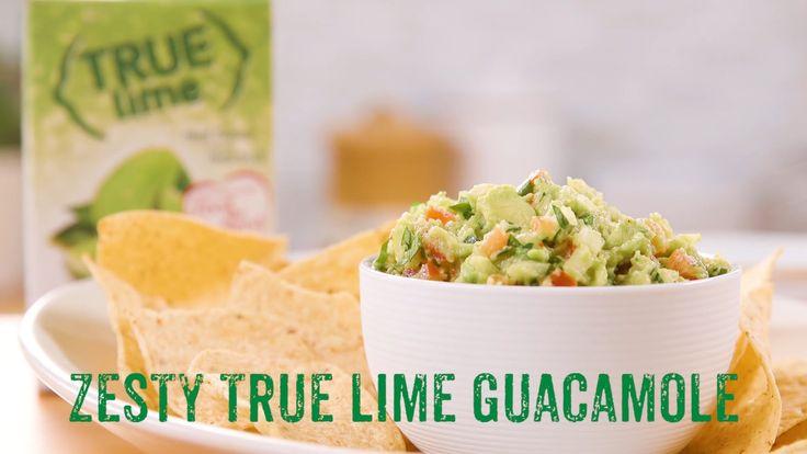 Zesty True Lime Guacamole