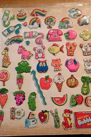 Puffy Stickers! | 38 Things That Will Take '80s Kids Back To Their Elementary School Days