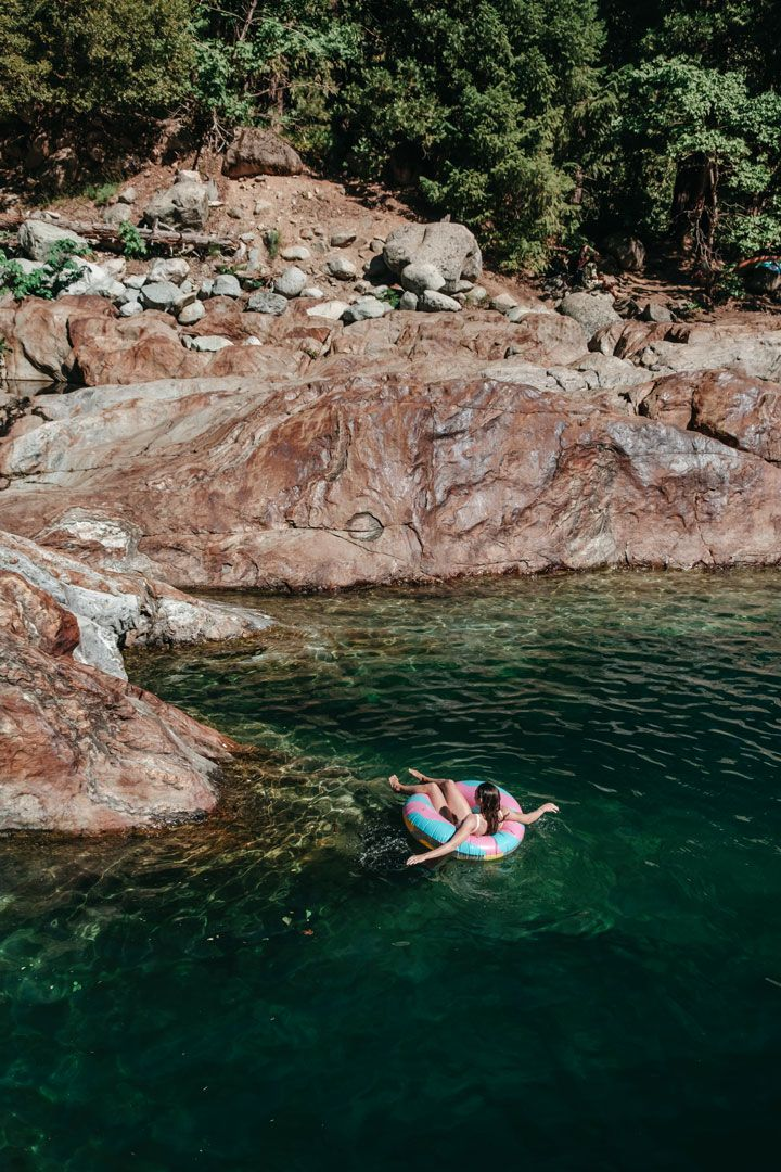 5 Awesome Swimming Holes in California | California travel, California hikes, Swimming holes