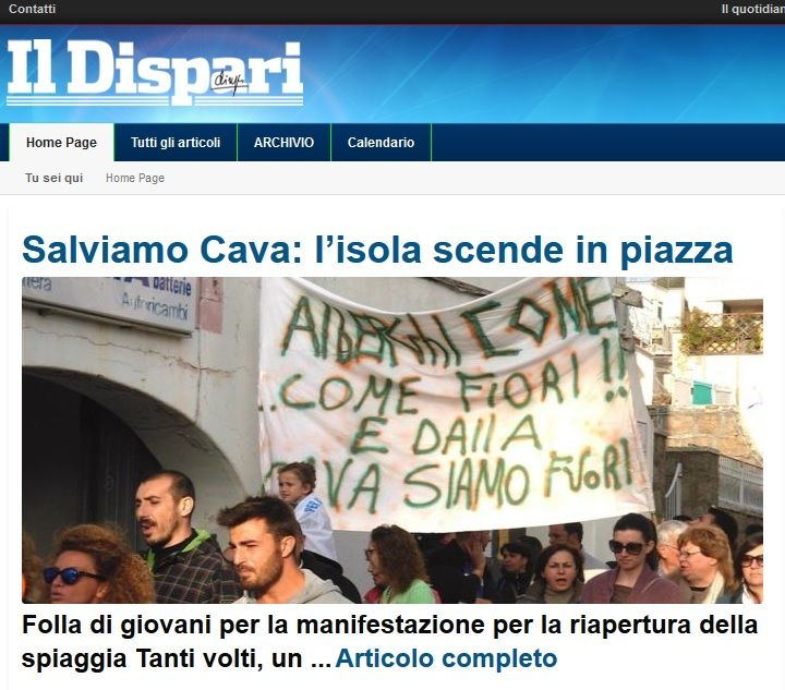 Salviamo Cava: l'isola scende in piazza - #IlDispari quotidiano