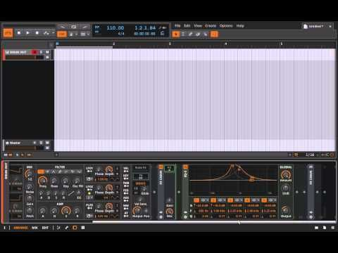 Bitwig Studio & Music Production Course - 5.50 - Create Your Own Vowel Filter - YouTube