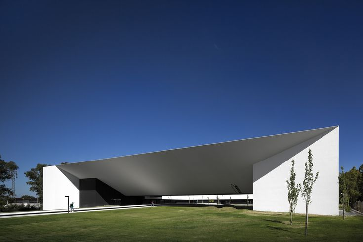 Built by MONTENEGRO Architects  in Beja, Portugal with date 2013. Images by FG+SG Fotografia de Arquitectura. The School of Technology and Management of the Polytechnic Institute of Beja is a building of about 11600- sqm of con...