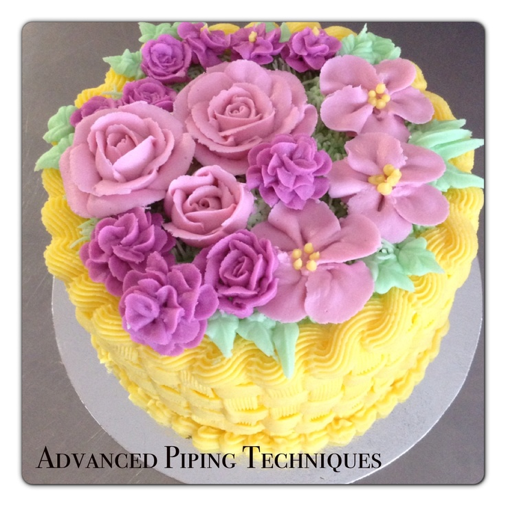 Cake Decorating Piping Techniques How To Make Reverse Shells And Ropes : NEW CLASS: Advanced piping techniques! Learn to pipe a cake like a pro! Join us and learn to ...