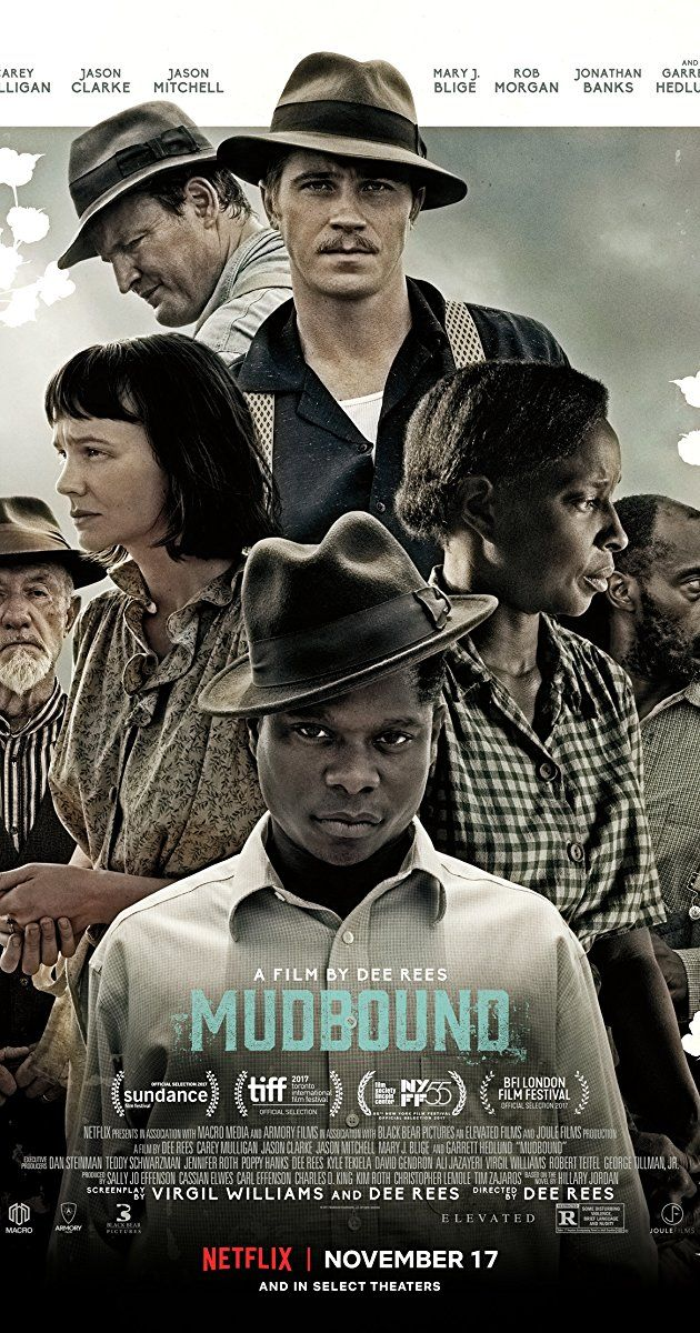 Directed by Dee Rees.  With Carey Mulligan, Garrett Hedlund, Jason Clarke, Jonathan Banks. Two men return home from World War II to work on a farm in rural Mississippi, where they struggle to deal with racism and adjusting to life after war.