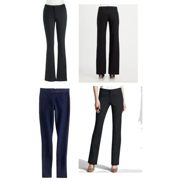 """""""Best Black Pants: Style Dial #1"""" by nadam1 on Polyvore"""