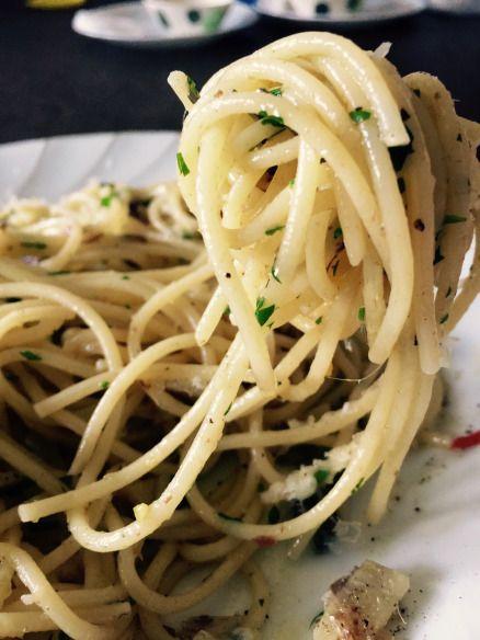 Spaghetti Aglio, Olio e Peperoncino. #itssokhay