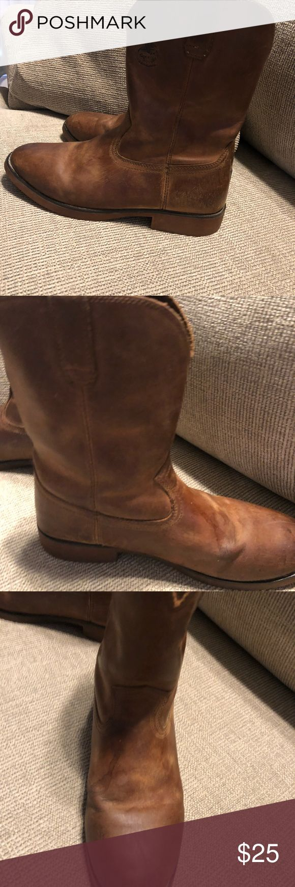 Men's Georgia Boots Size 7 Men's Boots Size 7  little wear and tear Georgia Boot Shoes Boots