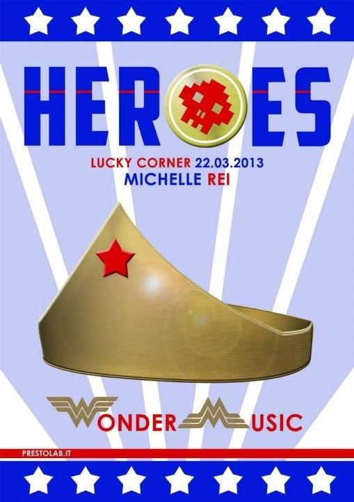 Locandina heroes - Wonder Woman