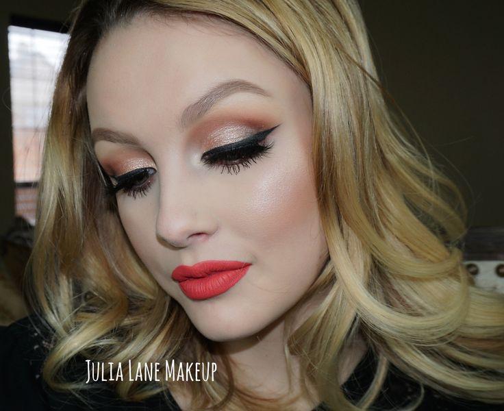#wingedliner #smashbox #liquid #lipstick #matte #wingliner #toofaced #sweetpeachpalette #peachpalette #falselashes #falsies #highlighter #makeup #eyemakeup #bridal #bridalhair #updo #natural #brows #contour