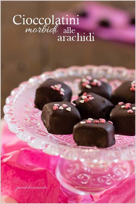 Cioccolatini morbidi alle arachidi e le amiche del cuore